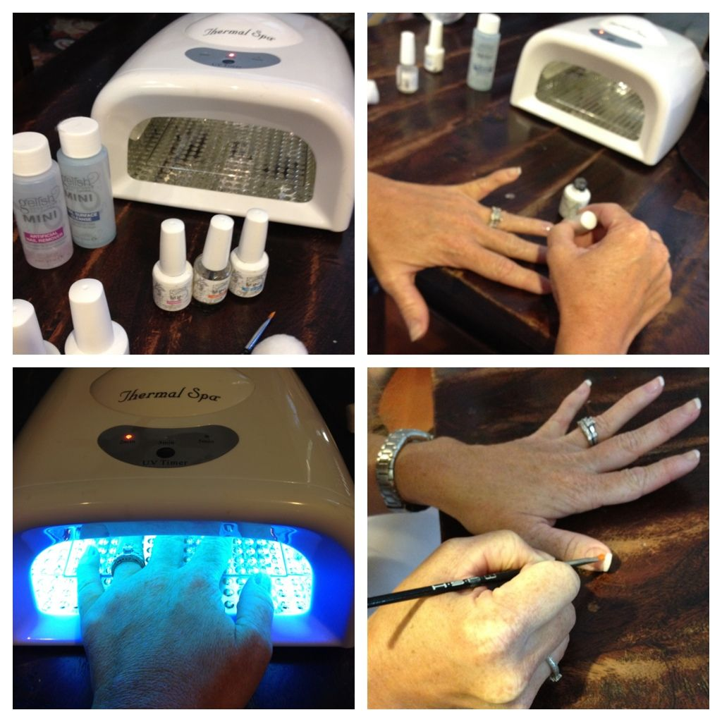 Easy steps on how to properly apply gelish polish i would