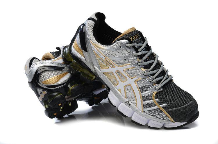 Cheap Cute Asics Gel Kinsei 4 Mens Metallic Silver Shadow Grey Nano Gray  Running Shoes Sale