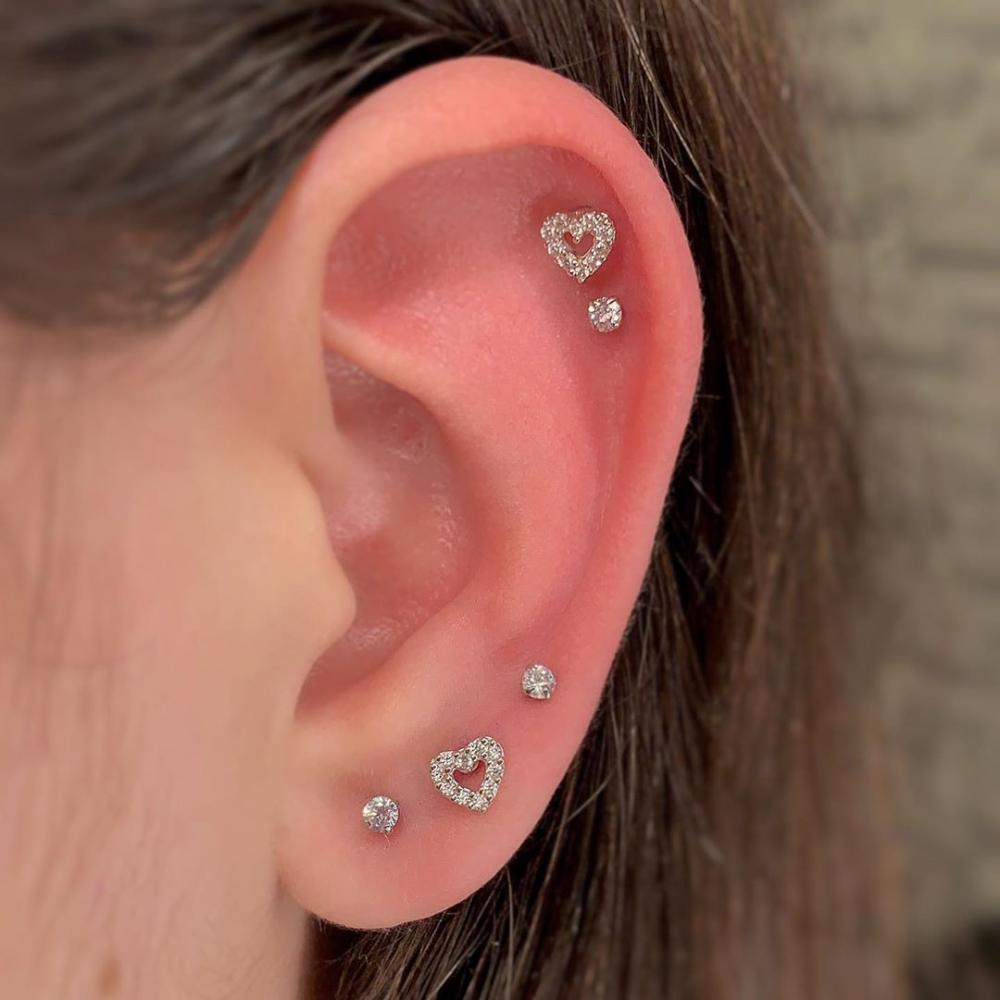 Piercings na orelha: 26 ideias para você se inspir