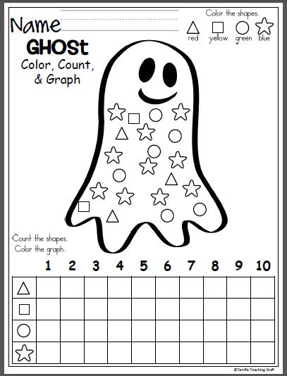 Free 10 Frames Math Worksheet Kindergarten Madebyteachers Halloween Math Activities Halloween Kindergarten Halloween Preschool