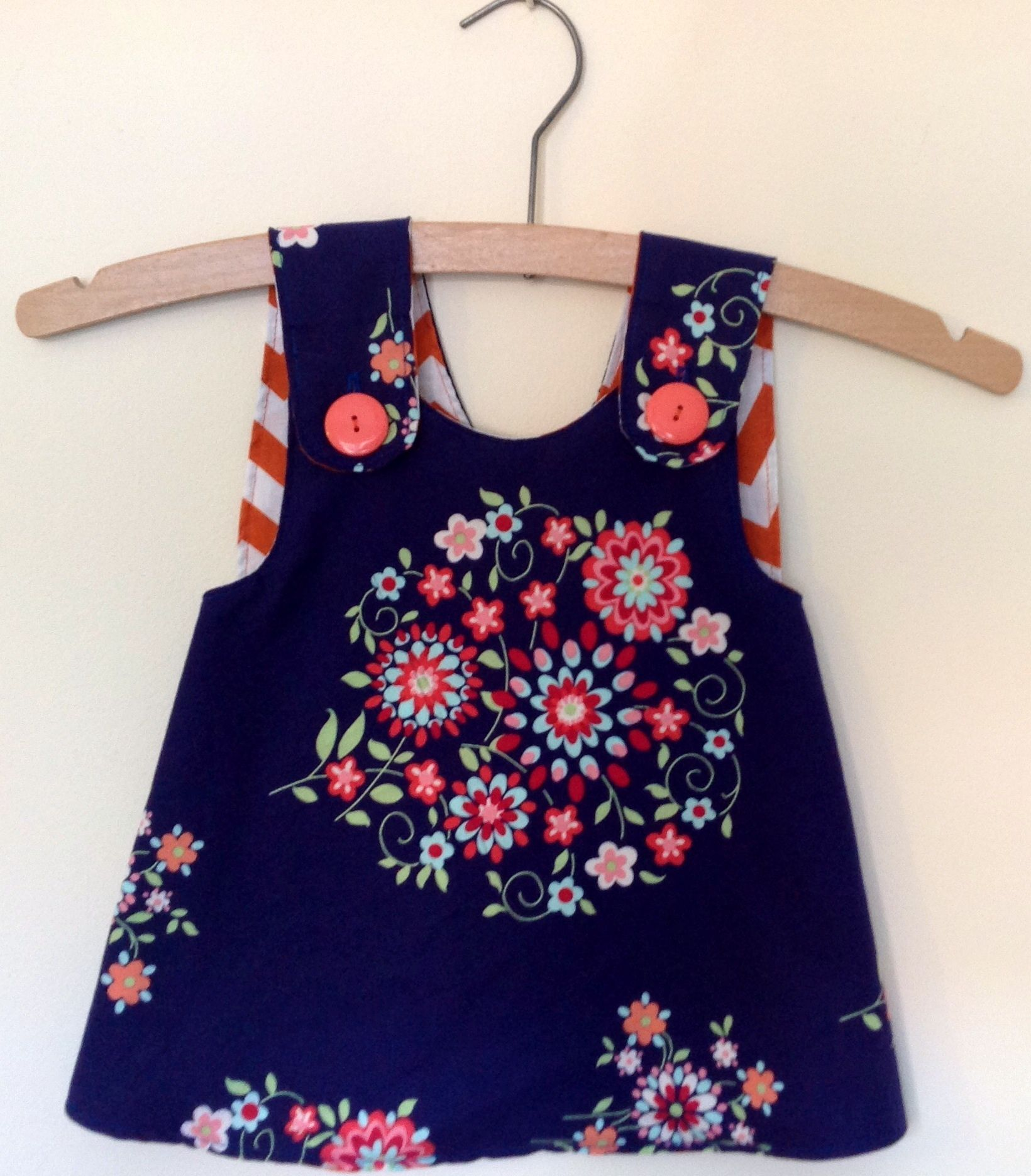 Baby Girl\'s Pinafore Dress | Kleinkinder, Nähe und Nähideen