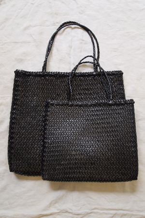 Hand Braided Leather Bag Makie