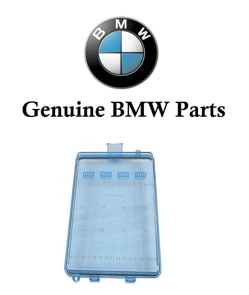 Bmw E23 733I E24 633Csi E30 318I 325 M3 Fuse Box Cover