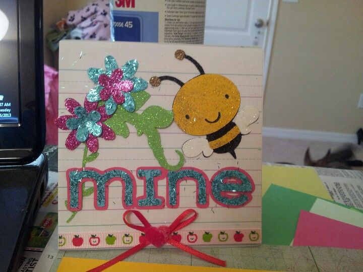 Cricut critters valentines day
