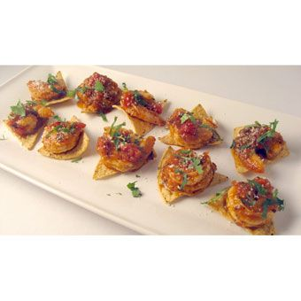 Chipotle shrimp toastaditos signature recipes pinterest crafted flavor and crunch of frontera salsa and tortilla chips make this fresh zesty chipotle shrimp tostaditos recipe as easy as it is delicious negle Images