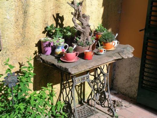 Gartendeko selber machen garten pinterest garten for Romantische gartendeko