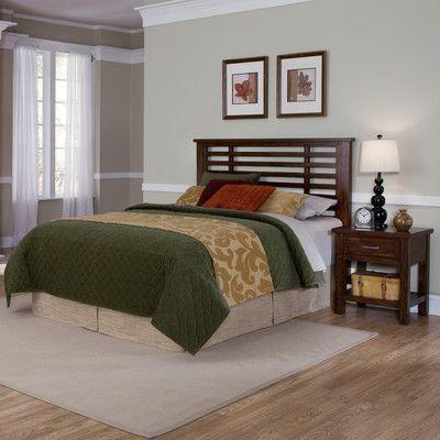 Cabin Creek Slat 2 Piece Headboard Bedroom Collection Size: King / California King - http://delanico.com/bedroom-sets/cabin-creek-slat-2-piece-headboard-bedroom-collection-size-king-california-king-518539784/