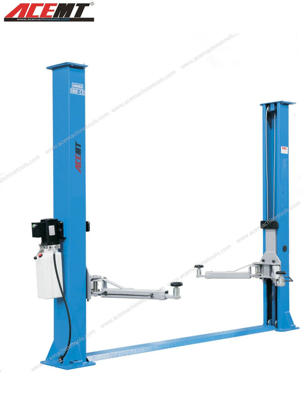 Floor Plate Two Post Lift (ACEL32FC/40FC in 2020 Two