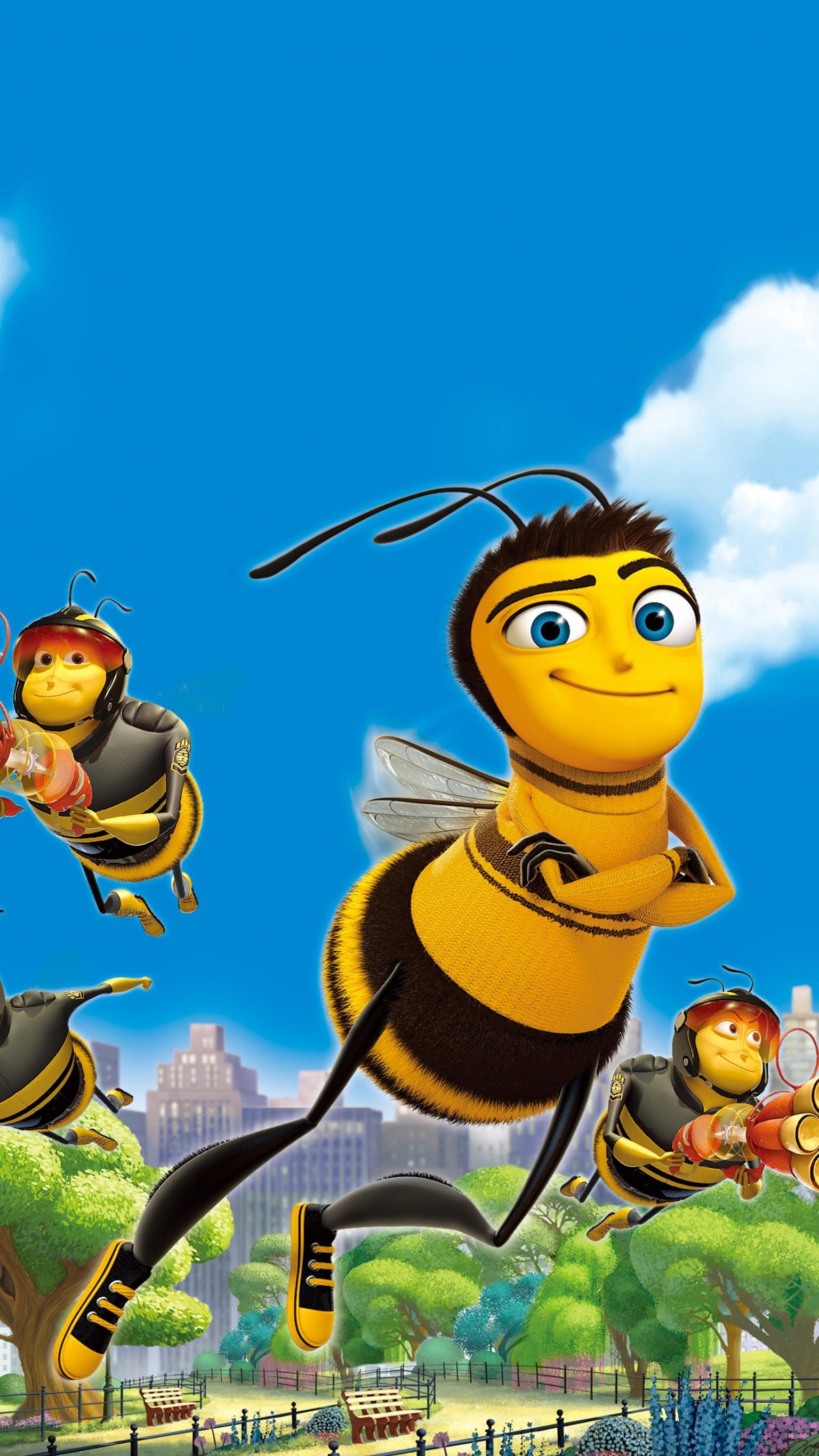 Bee Movie 2007 Phone Wallpaper Cute Cartoon Wallpapers Disney Drawings Bee Movie