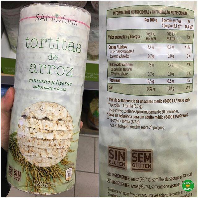 Tortitas De Arroz Sanoform Supermercado Aldi P V P 1 Euro Aprox Healthy Franita Lacestadefrani Tortitas De Arroz Tortas Sabroso