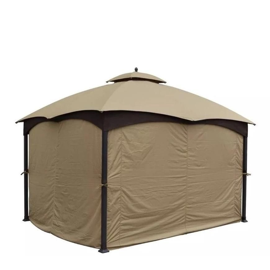 Universal 10 X12 Lowes Allen And Roth Oem Full Set Gazebo Curtains 4 Sides Lowe S 510327 In 2020 Gazebo Curtains Gazebo Hardtop Gazebo