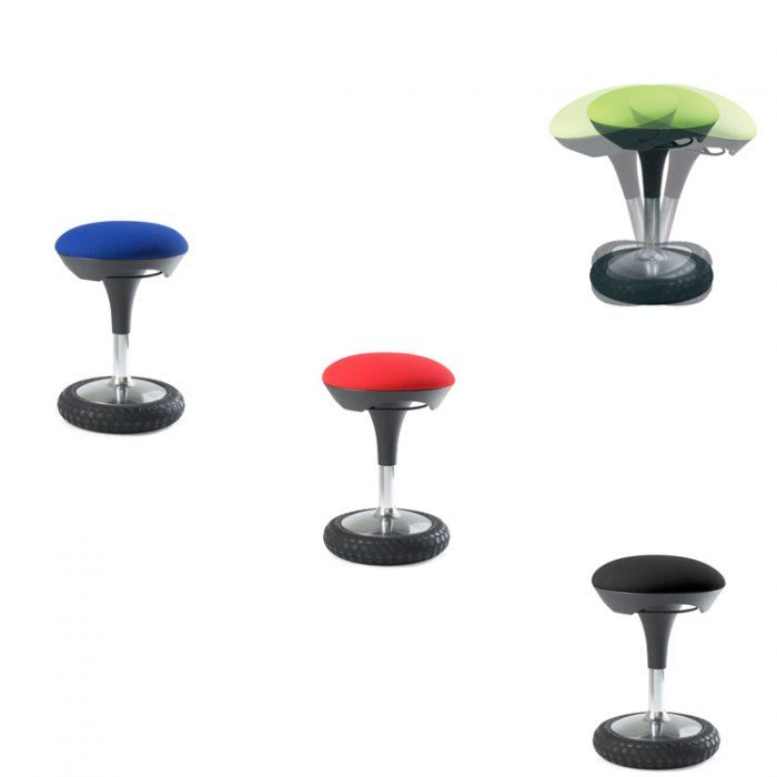 tabouret bureau etonnant le sige de bureau ergonomique sitness 4 pieds