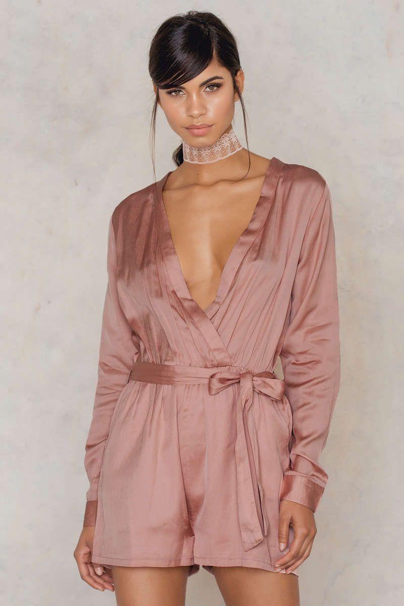 Sahara Long Sleeve Silky Playsuit