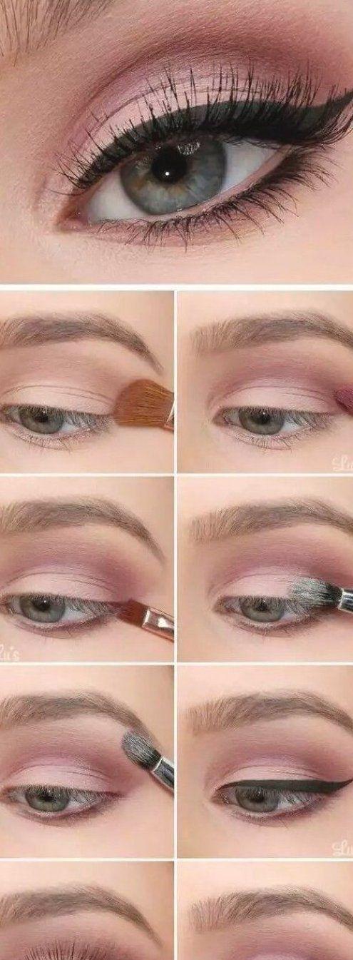 Make-up - Everyday makeup look  #easymakeup #easymakeuptutorial #everydaymakeup #makeup #makeupartist #makeupforbeginners #makeuproutine #makeupgrunge