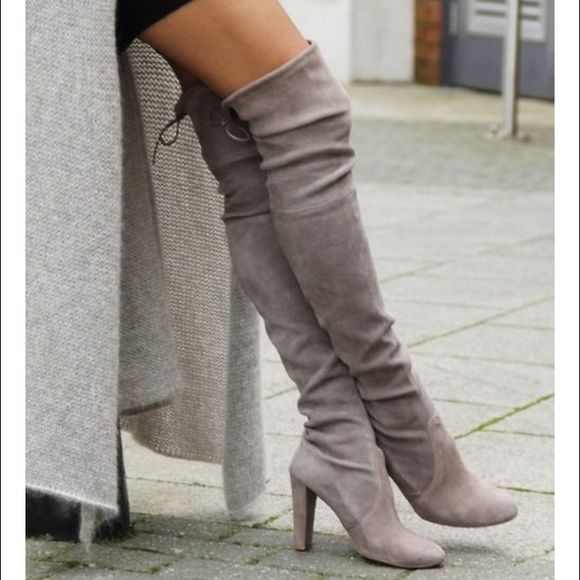 Steve Madden gorgeous boots in Taupe