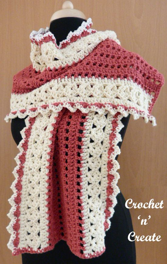 Crochet Evening Wrap | Häkelkleidung | Pinterest | Häkeln