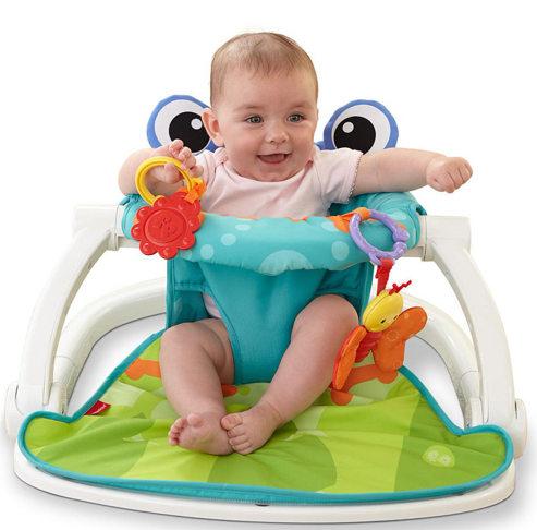 Omfy Portable Baby Floor Seat Upright Seat For Sitting Playing