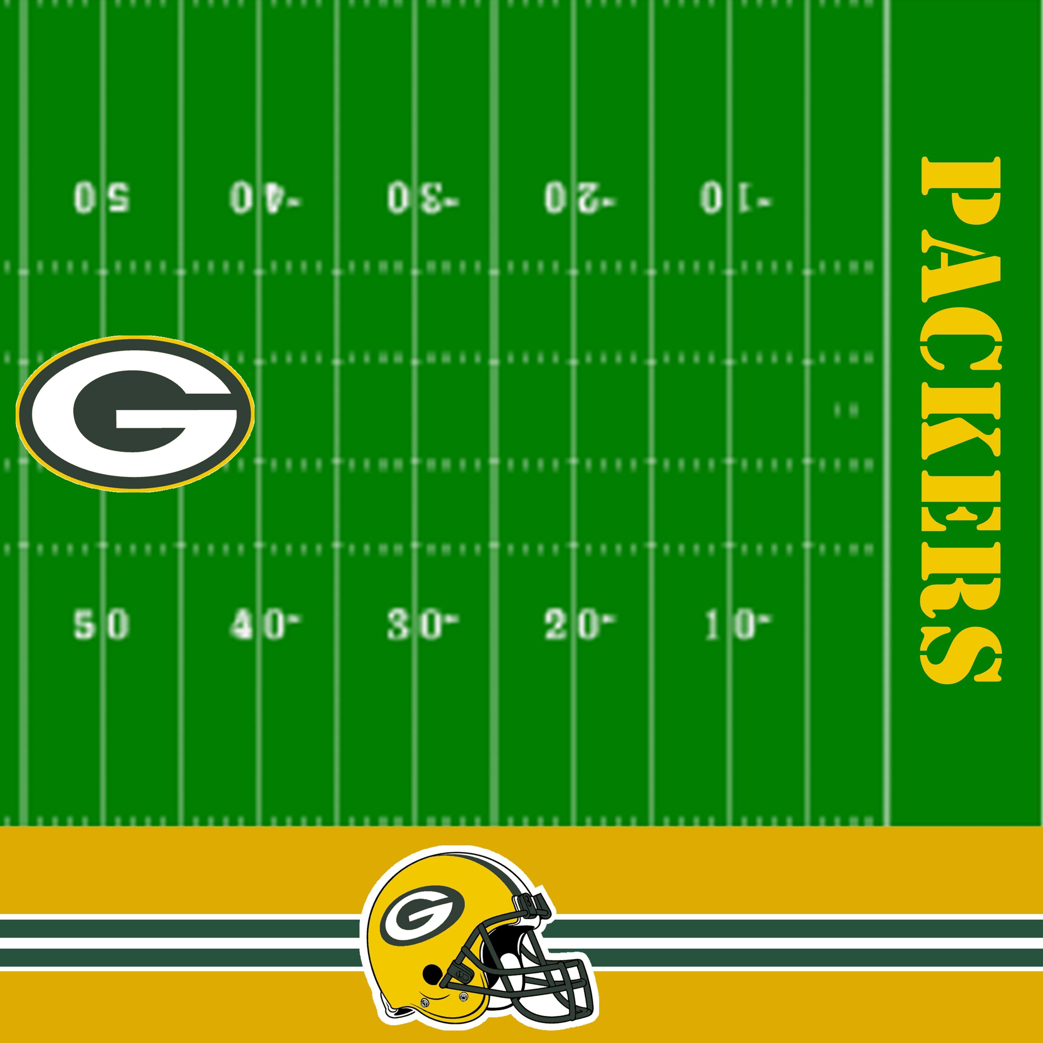 Packers Football Scrapbook Paper Created In Storybook