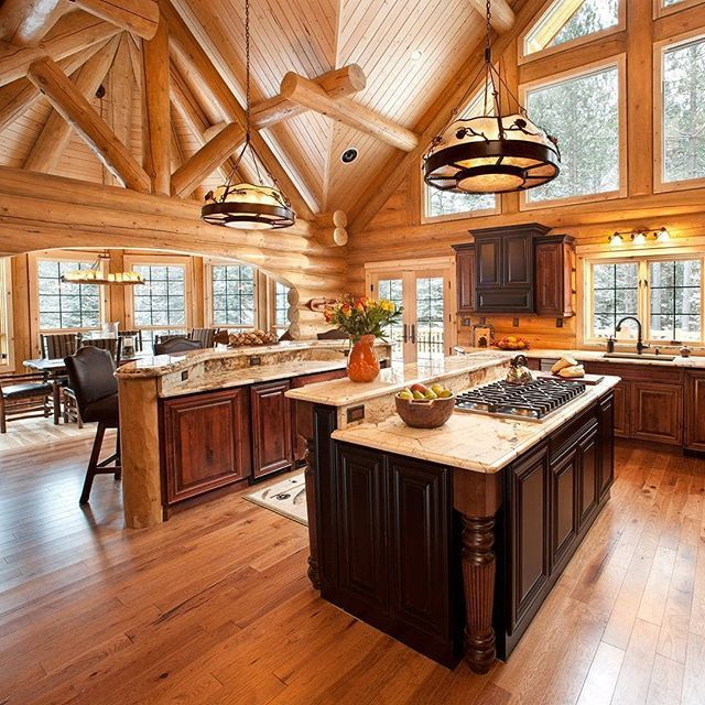Log Homes Photo Galley - Log Cabin Bureau