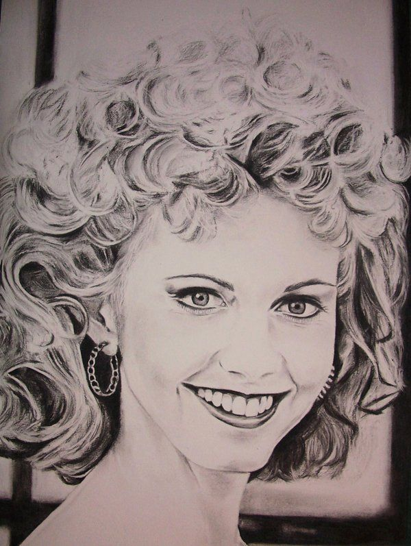 Olivia Newton John By Gracemckinley On Deviantart Olivia Newton John Greece Art Grease Movie