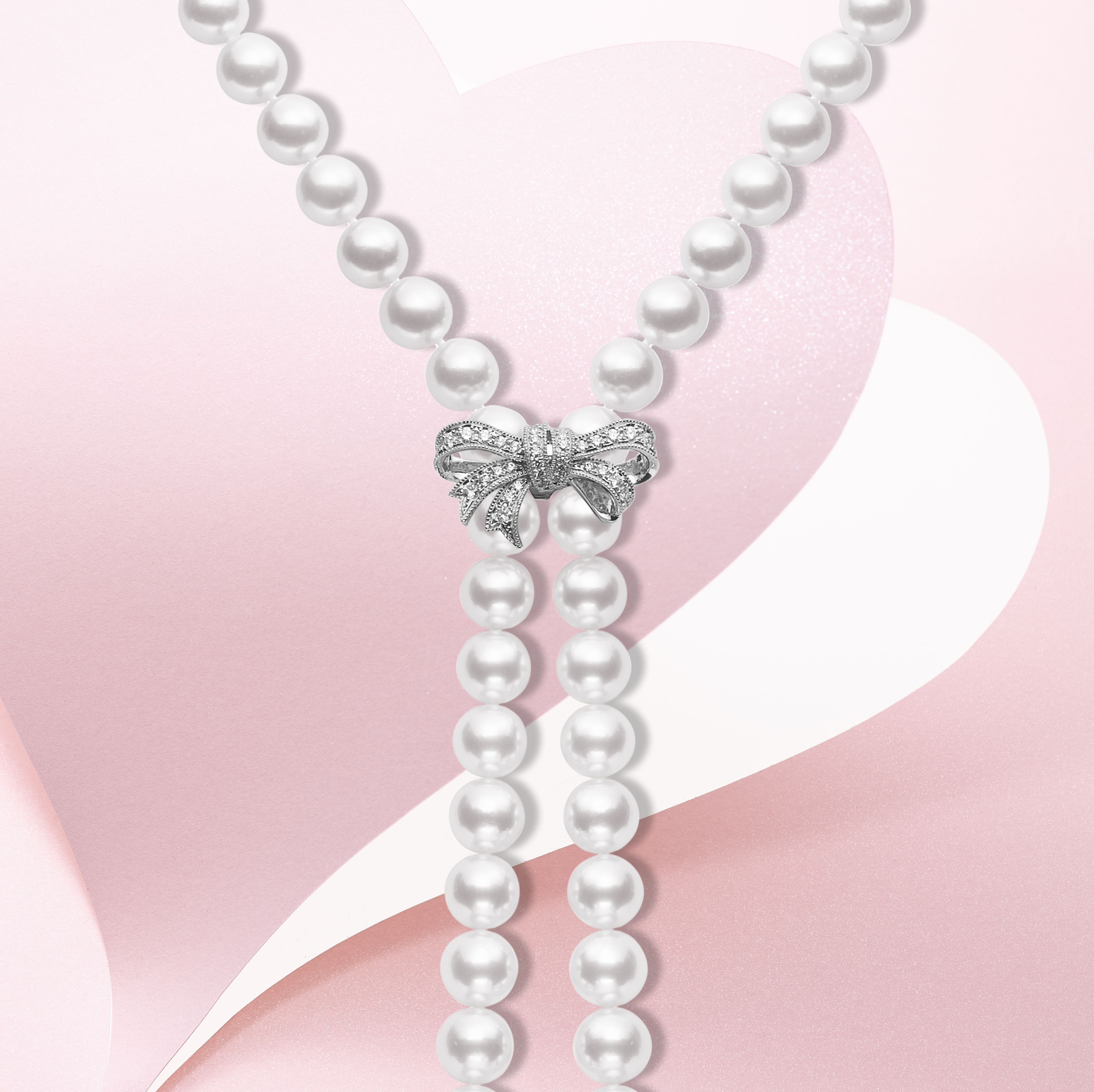 e0fd8d08a Mikimoto's Ribbon Bow Enhancer is the final touch to a classic pearl  strand. #GiftOfALifetime