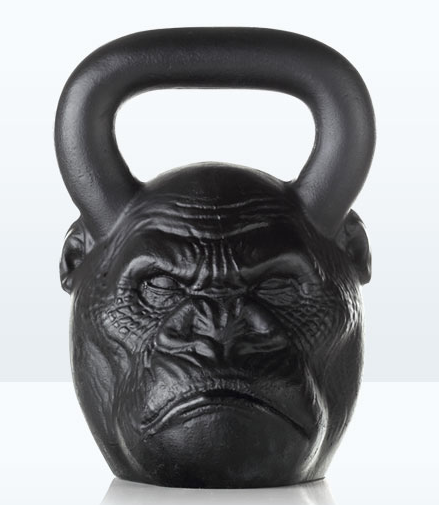 2 Pood 72lb Gorilla Head Primal Bell Awesome Kettlebell