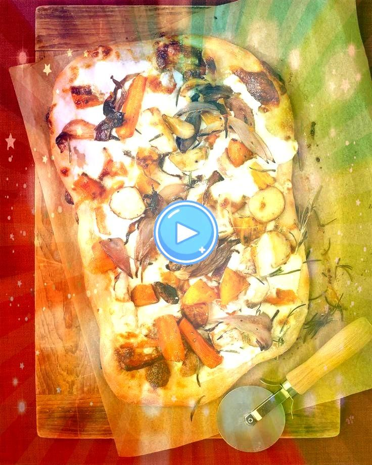 Fall Vegetable and Ricotta Pizza I added fresh grated parmesan and more rosemary would be goodRoasted Fall Vegetable and Ricotta Pizza I added fresh grated parmesan and m...