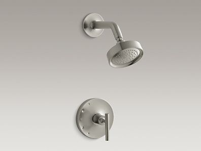 Purist Rite Temp Pressure Balancing Shower Faucet Trim With Lever Handle,  Valve Not Included