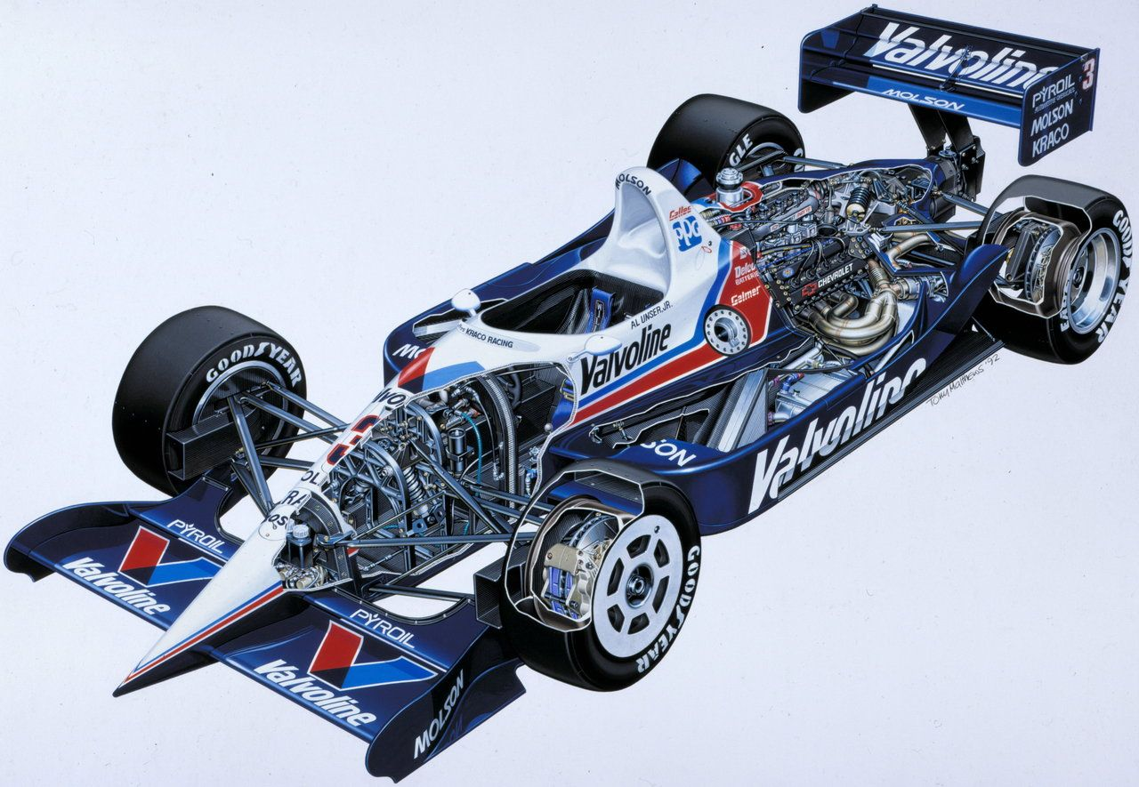 Gallery Racing Cars Cut In Half Look Awesome