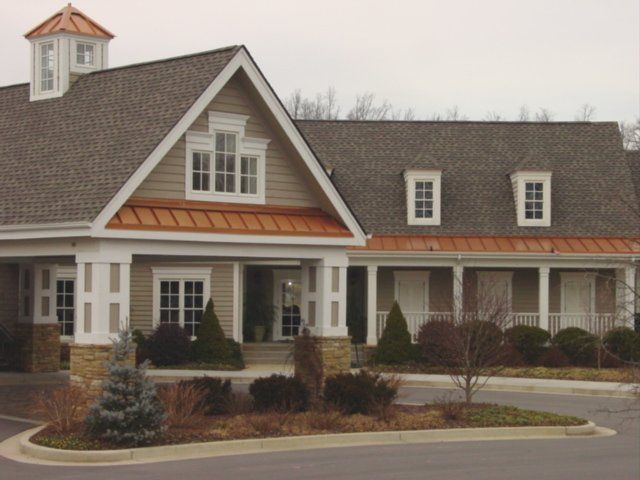 Metal Accent Roof Craftsman Home Metal Roof Roofing