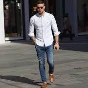 28b46b721 Resultado de imagen para outfit camisa blanca hombre