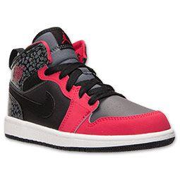 69896526a2d2 Girls  Preschool Jordan Air Jordan 1 Mid Basketball Shoes ...