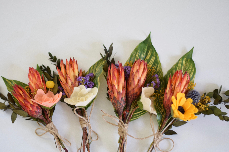 King Protea Tropical Wedding Tropical Flowers Destination