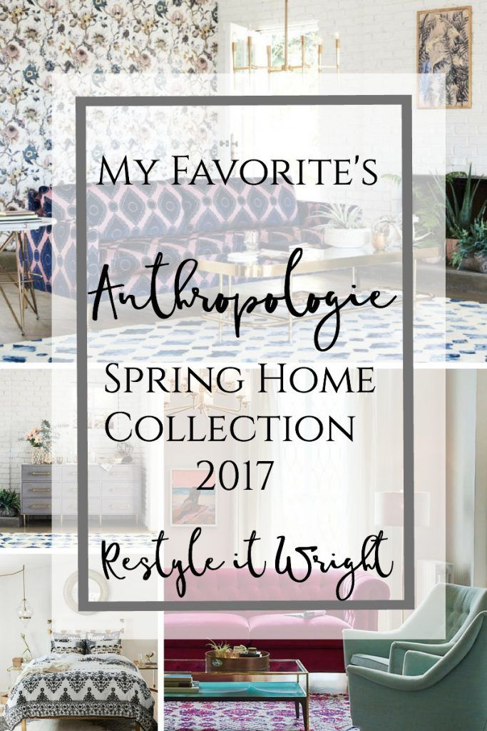 anthropologie spring collection house and home filled with - book report sample