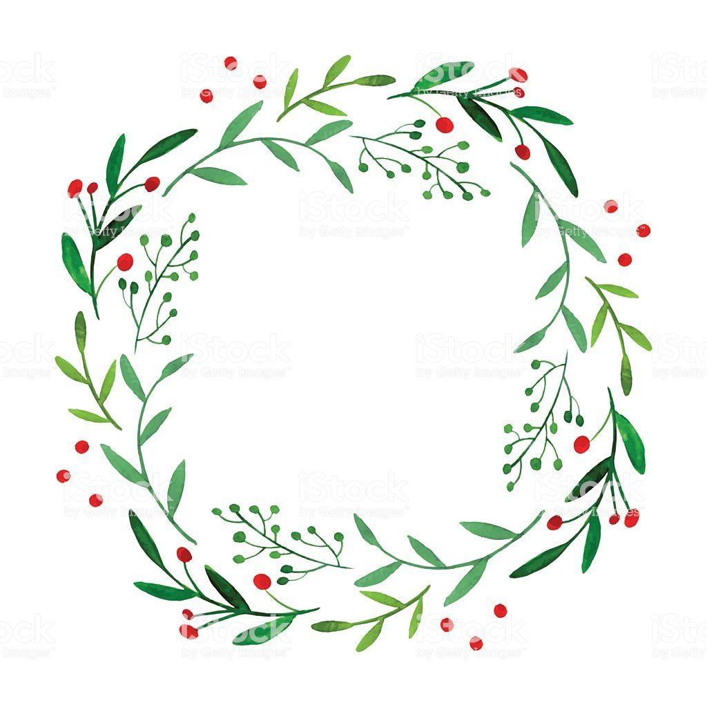 Photo of Watercolor wreath