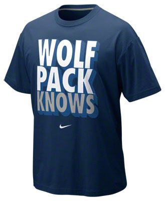 ... Nevada Wolf Pack Navy Nike Nike Knows T-Shirt