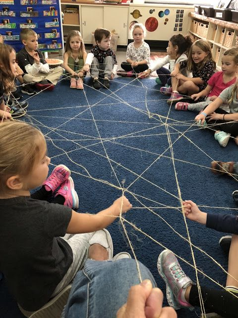 Kindergarten Teamwork (With images) | Classroom community ...