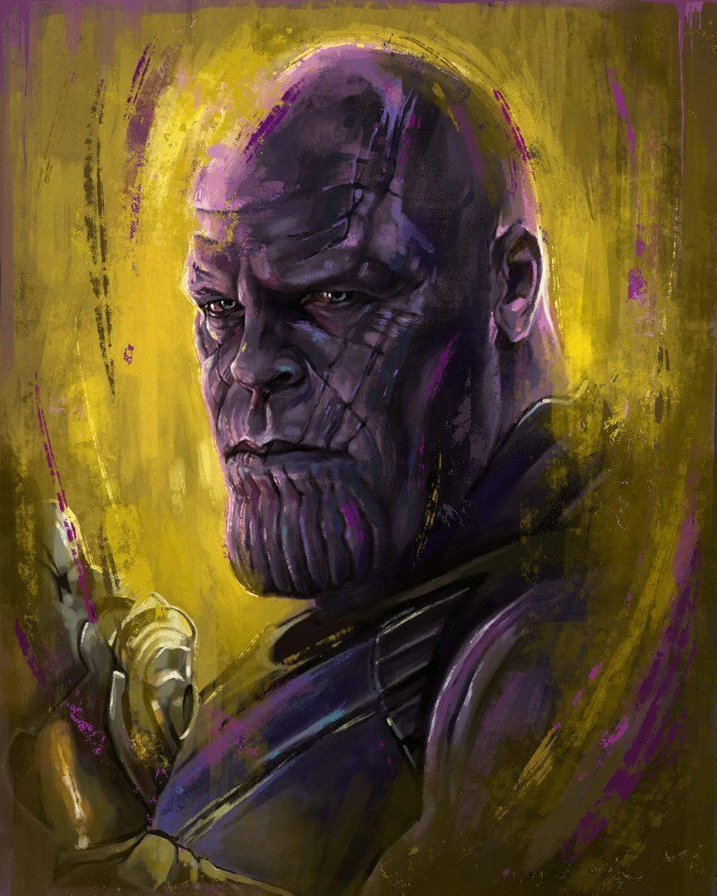 Image of Thanos #comicart (With images) | Marvel drawings ...