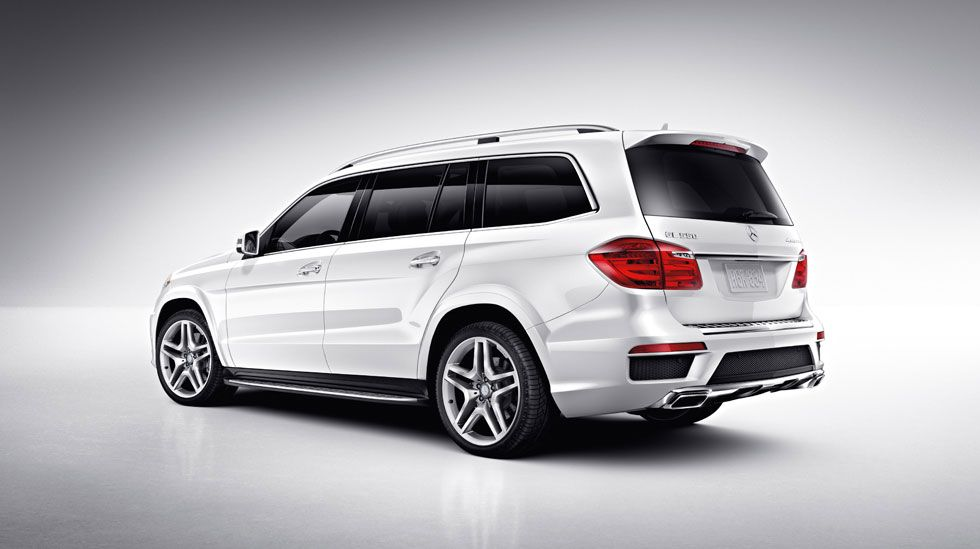 Gl Cl Large 7 Penger Suv Gl350 Gl450 Gl550 Mercedes Benz