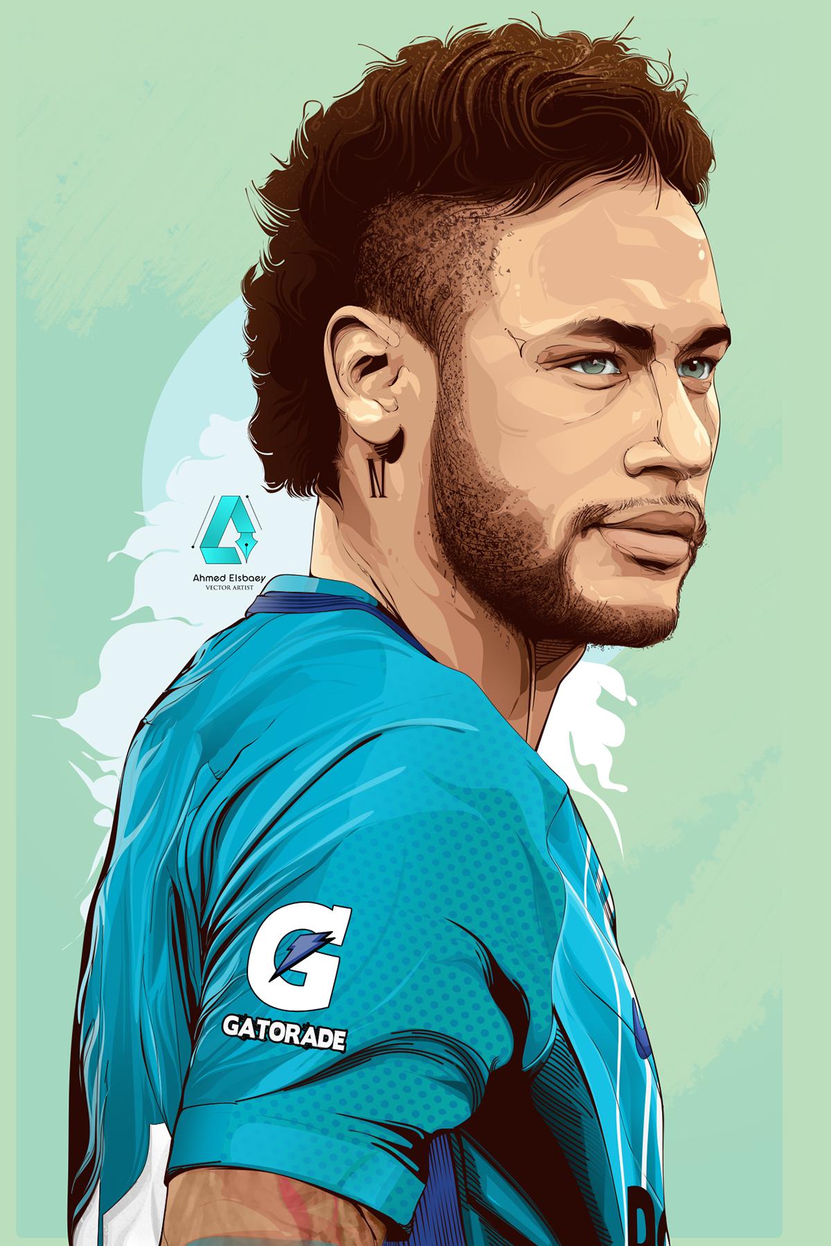 Pin De Alexis Em Football Illustration Desenho De Jogador De