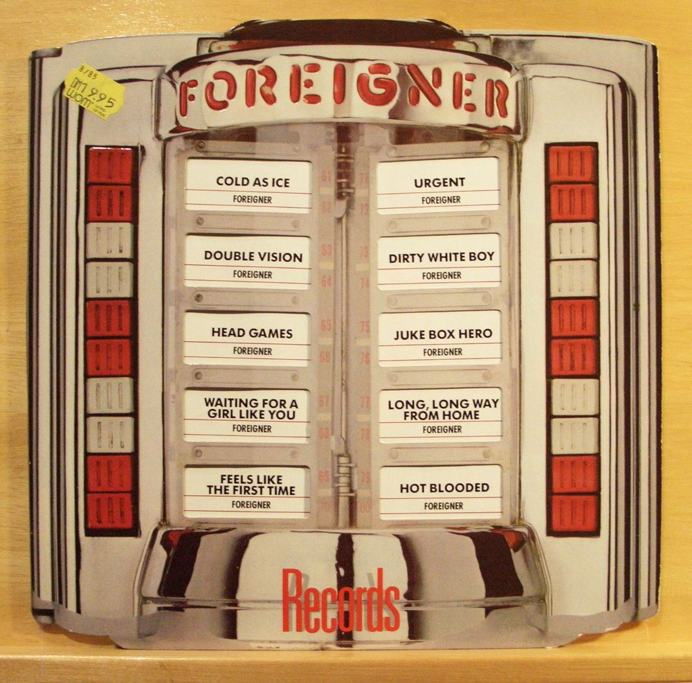 Foreigner Records Mint Minus Vinyl Lp Cold As Ice