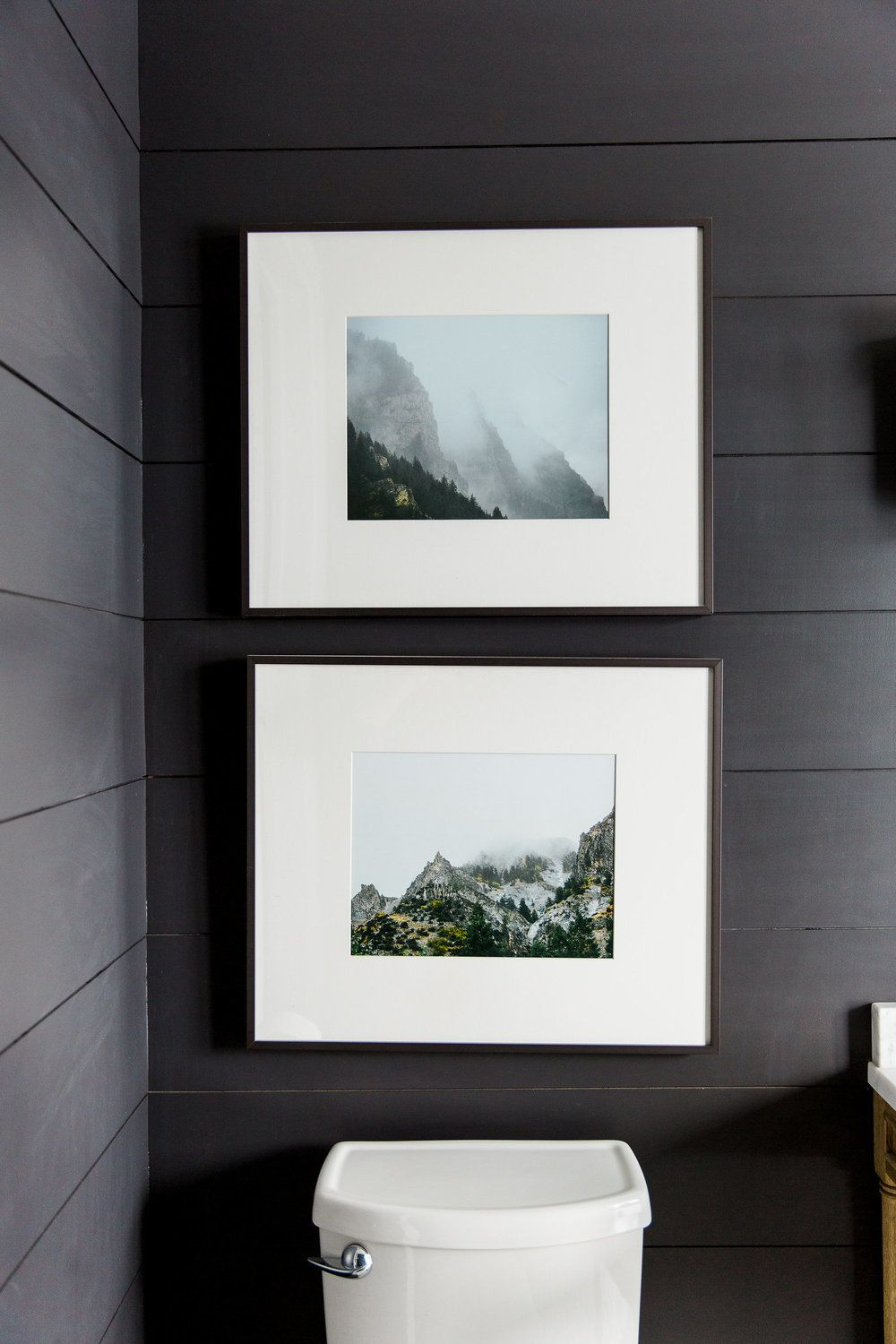 Modern Mountain Home | Guest bath, Bathroom inspiration and Toilet