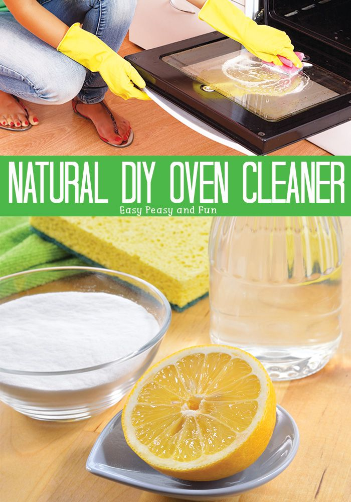 Natural Homemade Oven Cleaner That Works Homemade oven