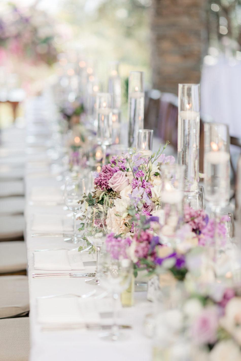 Lavender Hued Outdoor Wedding In Laguna Beach Outdoor Wedding Private Estate Wedding Wedding