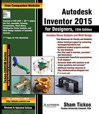 Autodesk Inventor 2015 For Designers Pdf With Images Autodesk