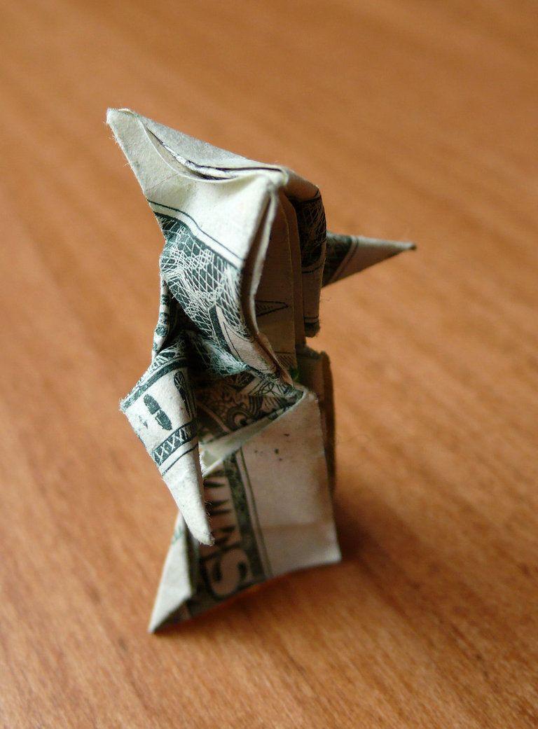 Dollar Bill Origami Grim Reaper By Craigfoldsfives On Deviantart