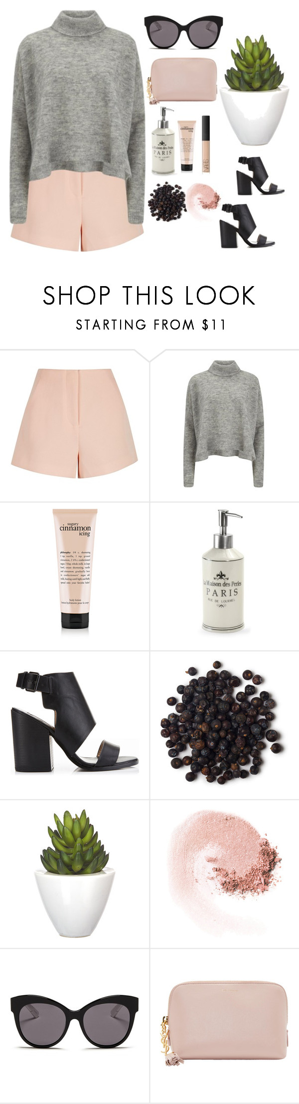 """""""Pinky pie"""" by maddiegbilly ❤ liked on Polyvore featuring Finders Keepers, Designers Remix, La Maison, Miss Selfridge, Pomax, NARS Cosmetics, Blanc & Eclare, Yves Saint Laurent, women's clothing and women's fashion"""