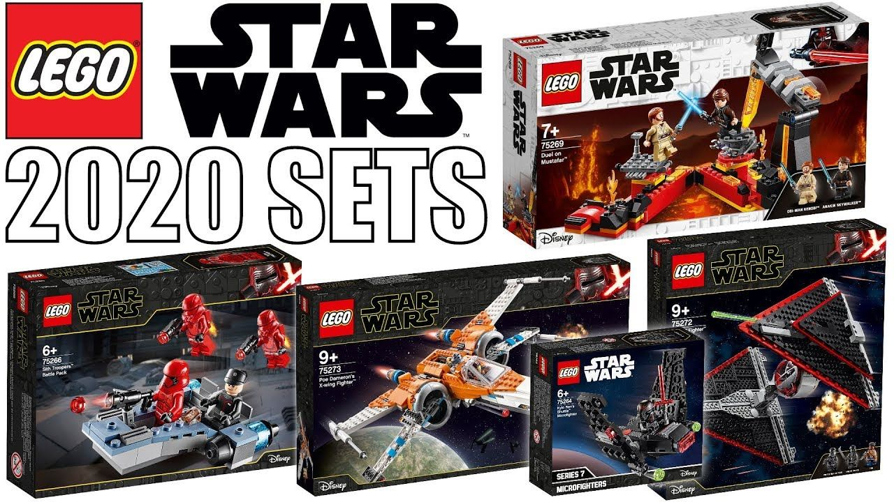 New Lego Star Wars 2020 Set Pictures More Episode 9 Sets Lego Star Wars Lego Star Lego Star Wars Sets
