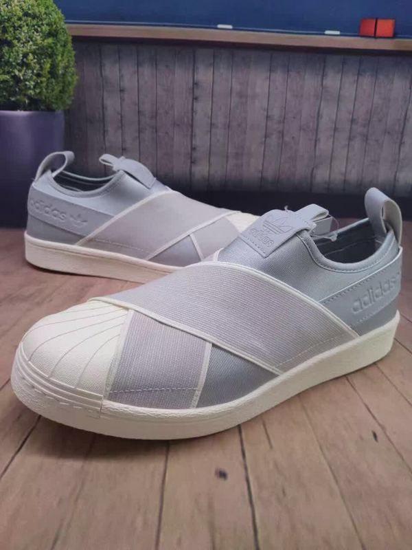 df84ccf7a936 adidas Originals Superstar Slip-On Now Comes in Light Grey ...