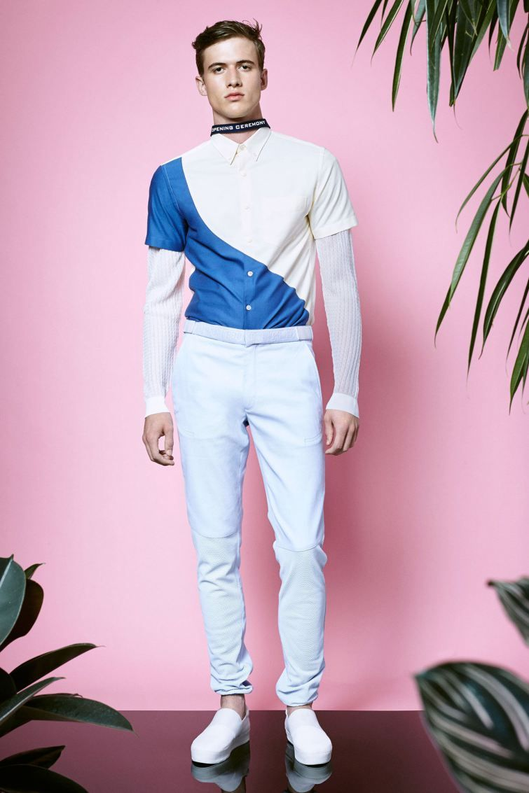 Opening Ceremony SpringSummer 2015 Collection - London Collections Men